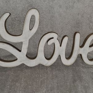 Hobby Lobby Love Wood Sign Farmhouse Decor